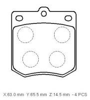 Cens.com Brake Pads TAIWAN BRAKE TECHNOLOGY CORP.
